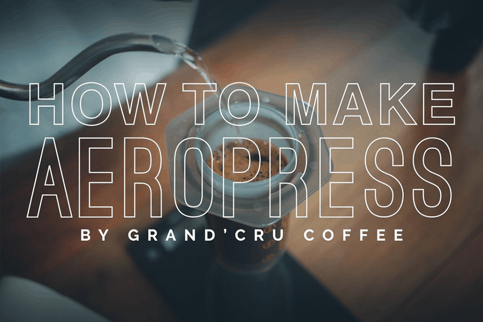 How to brew Aeropress: Method 1